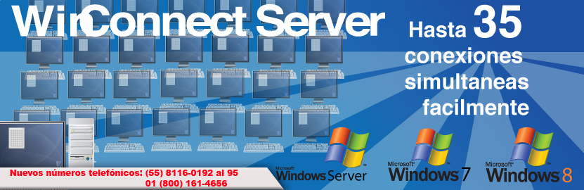 Winconnect server vs